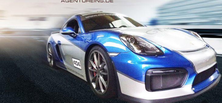 A1 EXKLUSIV – FahrzeugDesign Porsche GT4