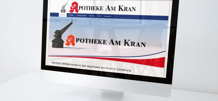WebDesign – Apotheke am Kran