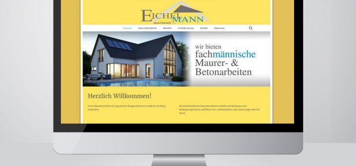WebDesign – Bau Eichelmann