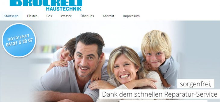 Website Brockelt Haustechnik